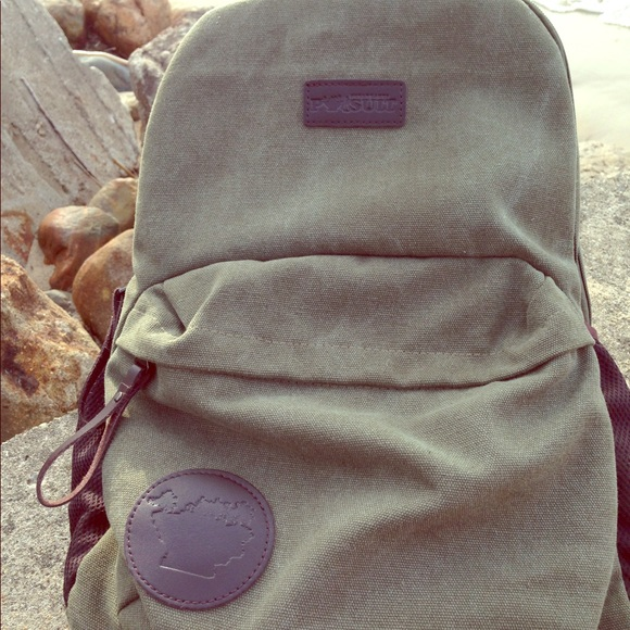 9f638c827 Great Lakes Pursuit Bags | Retro Canvas Green Backpack | Poshmark